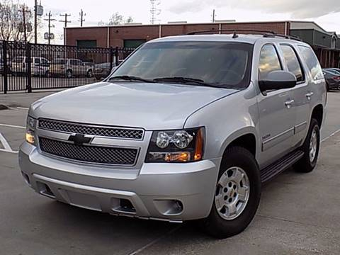 2012 Chevrolet Tahoe for sale at Texas Motor Sport in Houston TX