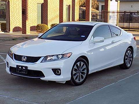 2013 Honda Accord for sale at Texas Motor Sport in Houston TX