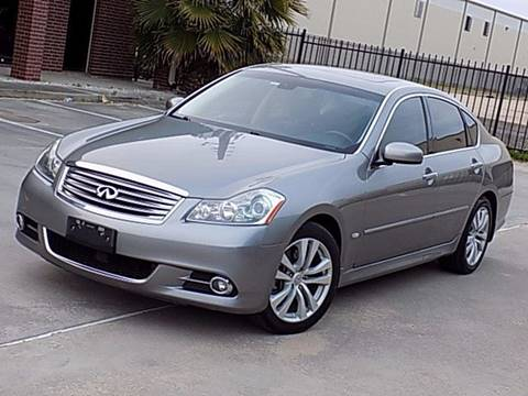 2009 Infiniti M45 for sale at Texas Motor Sport in Houston TX