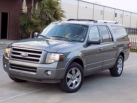2010 Ford Expedition EL for sale at Texas Motor Sport in Houston TX