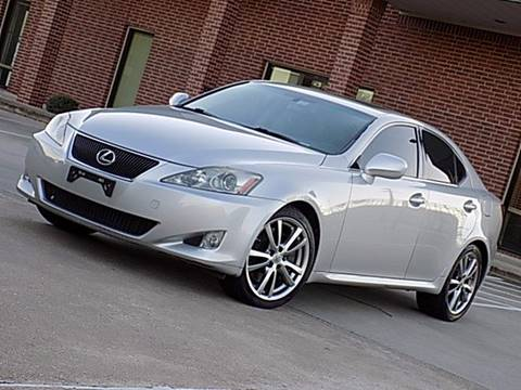 2008 Lexus IS 350 for sale at Texas Motor Sport in Houston TX