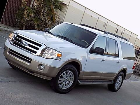 2013 Ford Expedition EL for sale at Texas Motor Sport in Houston TX