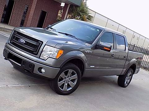 2013 Ford F-150 for sale at Texas Motor Sport in Houston TX