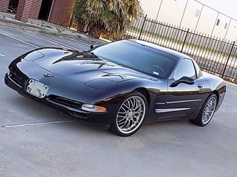 1999 Chevrolet Corvette for sale at Texas Motor Sport in Houston TX