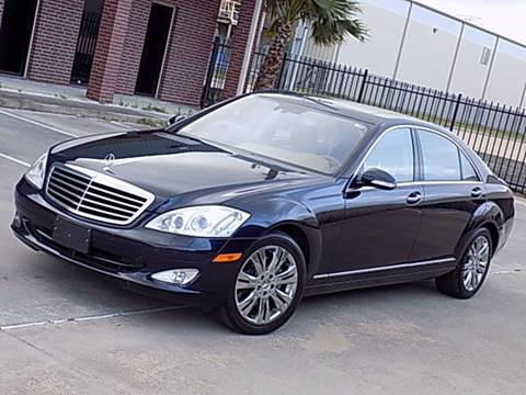 2008 Mercedes-Benz S-Class for sale at Texas Motor Sport in Houston TX