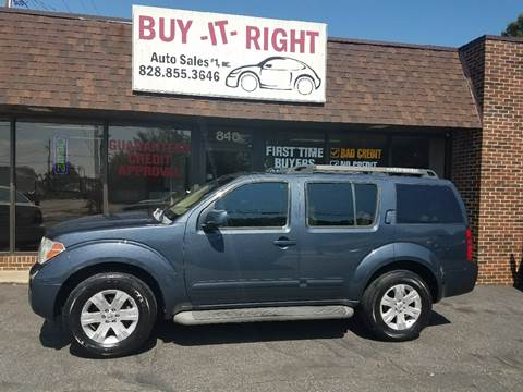 2006 Nissan Pathfinder for sale in Hickory, NC