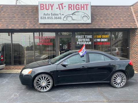 2008 Pontiac G6 for sale in Hickory, NC