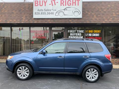 2012 Subaru Forester for sale in Hickory, NC