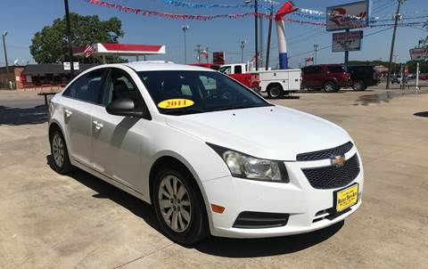 2011 Chevrolet Cruze for sale at Russell Smith Auto in Fort Worth TX