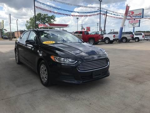 2013 Ford Fusion for sale at Russell Smith Auto in Fort Worth TX