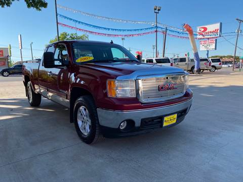 2007 GMC Sierra 1500 for sale at Russell Smith Auto in Fort Worth TX
