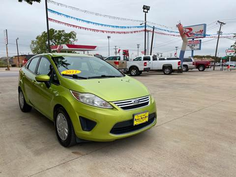 2011 Ford Fiesta for sale at Russell Smith Auto in Fort Worth TX