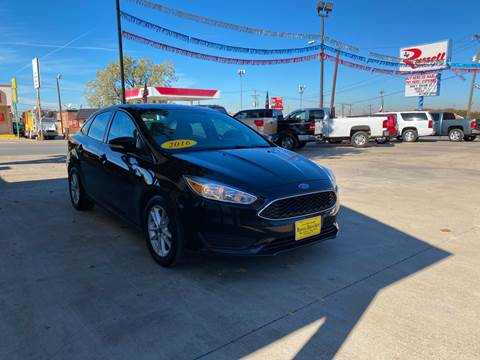 2016 Ford Focus for sale at Russell Smith Auto in Fort Worth TX