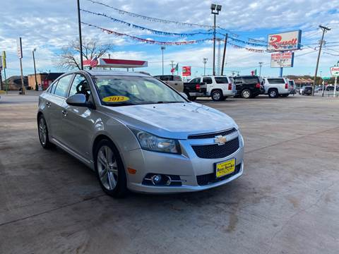 2012 Chevrolet Cruze for sale at Russell Smith Auto in Fort Worth TX