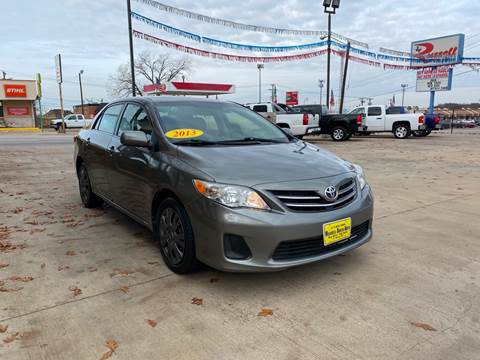 2013 Toyota Corolla for sale at Russell Smith Auto in Fort Worth TX