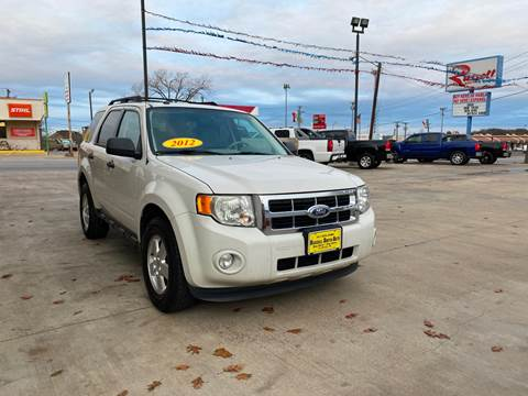 2012 Ford Escape for sale at Russell Smith Auto in Fort Worth TX