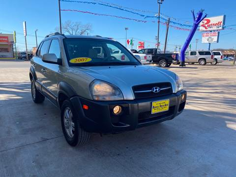 2007 Hyundai Tucson for sale at Russell Smith Auto in Fort Worth TX