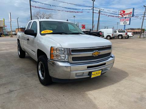 2013 Chevrolet Silverado 1500 for sale at Russell Smith Auto in Fort Worth TX