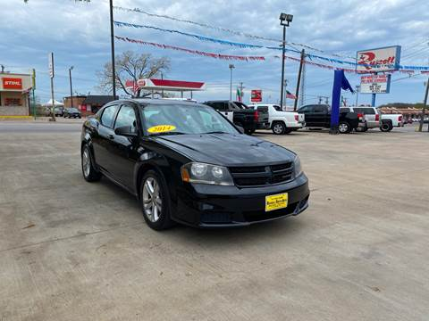 2014 Dodge Avenger for sale at Russell Smith Auto in Fort Worth TX