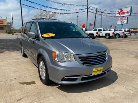 2013 Chrysler Town and Country for sale at Russell Smith Auto in Fort Worth TX