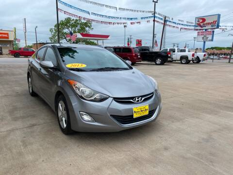 2013 Hyundai Elantra for sale at Russell Smith Auto in Fort Worth TX