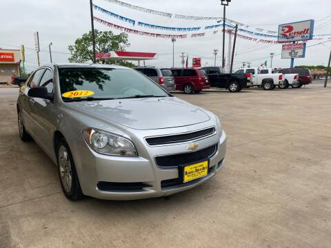 2012 Chevrolet Malibu for sale at Russell Smith Auto in Fort Worth TX
