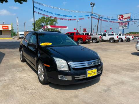 2007 Ford Fusion for sale at Russell Smith Auto in Fort Worth TX