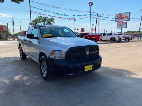 2015 RAM Ram Pickup 1500 for sale at Russell Smith Auto in Fort Worth TX