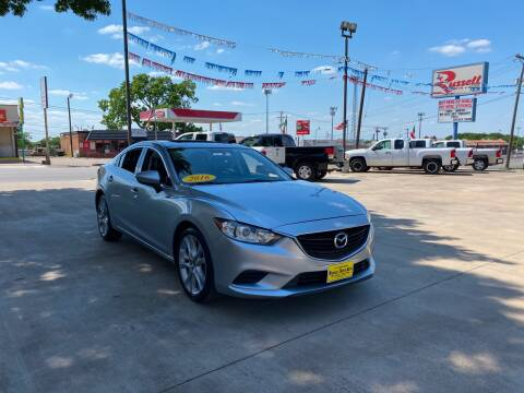 2016 Mazda MAZDA6 for sale at Russell Smith Auto in Fort Worth TX