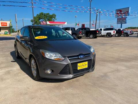 2012 Ford Focus for sale at Russell Smith Auto in Fort Worth TX