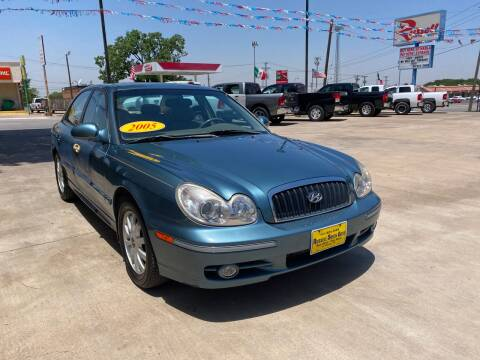 2005 Hyundai Sonata for sale at Russell Smith Auto in Fort Worth TX