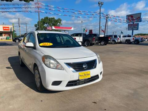 2012 Nissan Versa for sale at Russell Smith Auto in Fort Worth TX