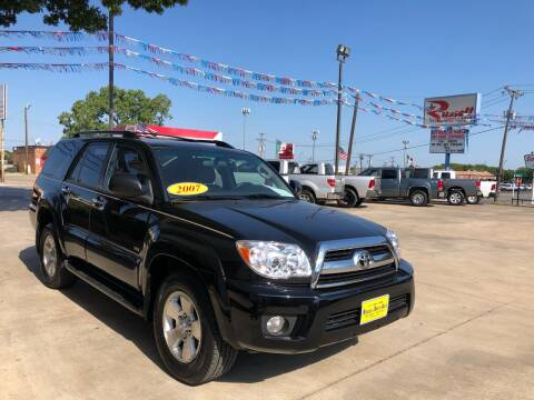 2007 Toyota 4Runner for sale at Russell Smith Auto in Fort Worth TX