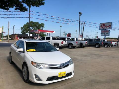 2012 Toyota Camry for sale at Russell Smith Auto in Fort Worth TX