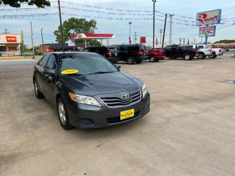 2010 Toyota Camry for sale at Russell Smith Auto in Fort Worth TX