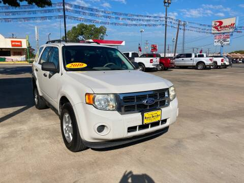 2010 Ford Escape for sale at Russell Smith Auto in Fort Worth TX