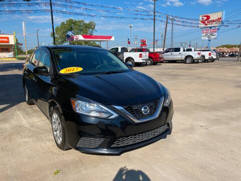 2017 Nissan Sentra for sale at Russell Smith Auto in Fort Worth TX