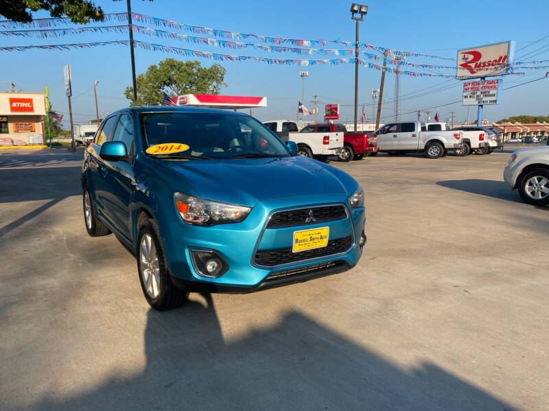 2014 Mitsubishi Outlander Sport for sale at Russell Smith Auto in Fort Worth TX