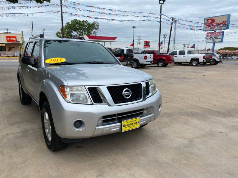 2011 Nissan Pathfinder for sale at Russell Smith Auto in Fort Worth TX