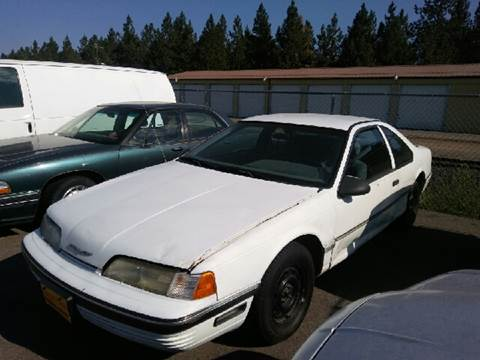 1991 Ford Thunderbird For Sale In Post Falls ID