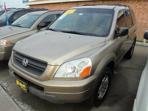 used 2003 honda pilot for sale in texas