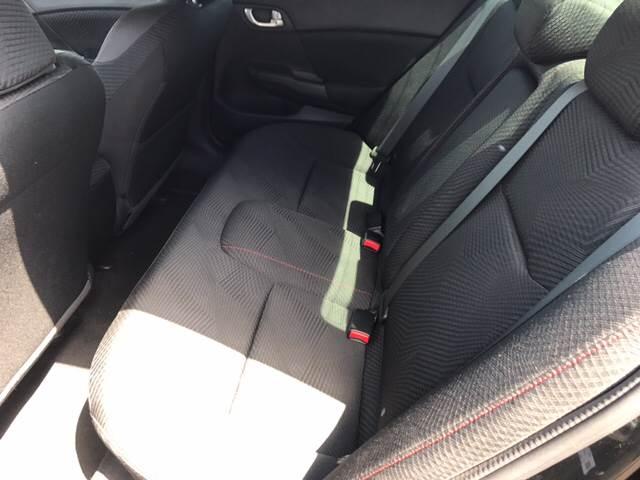 2012 Honda Civic Si 4dr Sedan - Franklin IN
