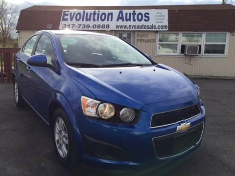 2016 Chevrolet Sonic for sale in Franklin, IN