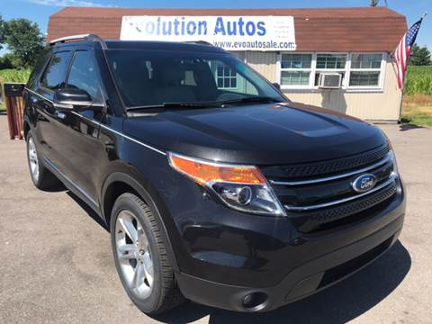 2013 Ford Explorer for sale in Franklin, IN