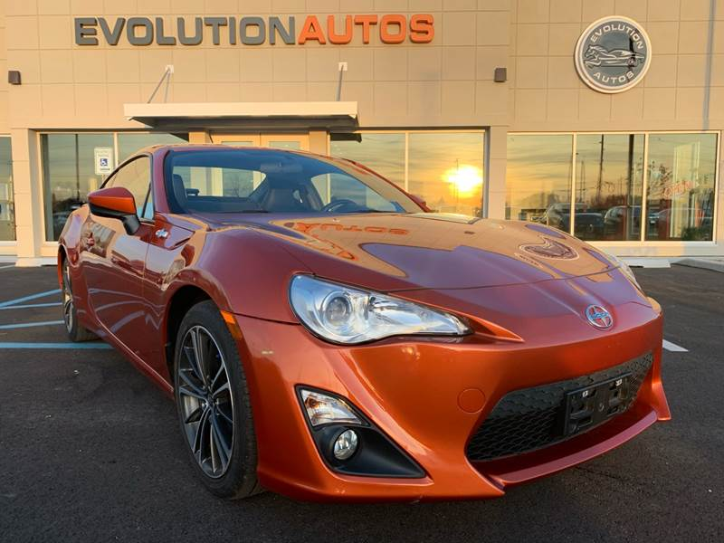 2014 Scion FR-S for sale at Evolution Autos in Whiteland IN