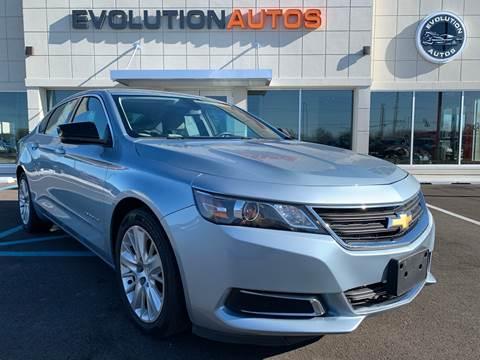 2015 Chevrolet Impala for sale in Whiteland, IN