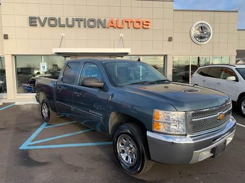 2012 Chevrolet Silverado 1500 for sale at Evolution Autos in Whiteland IN