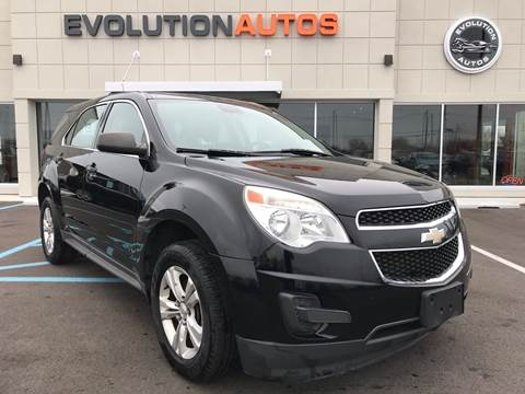 2012 Chevrolet Equinox for sale at Evolution Autos in Whiteland IN