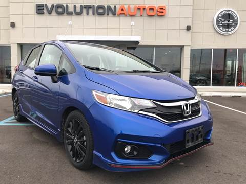2018 Honda Fit for sale at Evolution Autos in Whiteland IN
