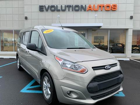 2016 Ford Transit Connect Wagon for sale at Evolution Autos in Whiteland IN